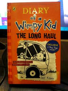 Diary Of A Wimpy Kid The Long Haul (Hardcover)