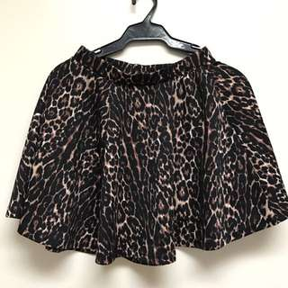 Cotton On Animal Print Skirt