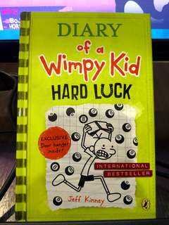 Diary Of A Wimpy Kid Hard Luck (Hardcover)