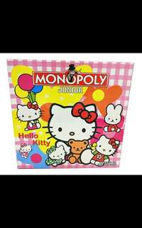 Hello Kitty Junior Monopoly (Preorder)Free Delivery