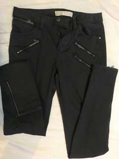 Zara Black Staple Pants