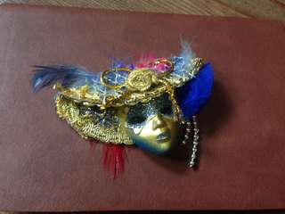 Masquerade Fridge Magnet