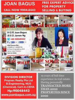 JOAN BAGUS CAN HELP U SELL FAST SELL HIGH!CALL NOW 90048442