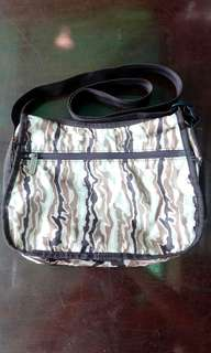 LeSportSac Brown-Patterned Crossbag