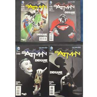 Batman #35, #36, #37 & #38 Endgame Parts 1 to 4