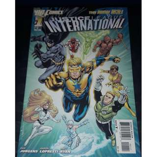 Justice League International #1 The New 52!