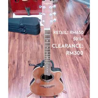 Toyama TRB-301CEN Synthetic back acoustic guitar [Clearance May 2018]