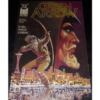 Green Arrow #1 1987