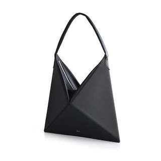 Origami Handbag Slingbag in Black