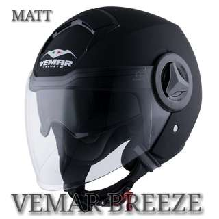 *PSB APPROVED VEMAR BREEZE MATT OR GLOSSY HELMET..!!