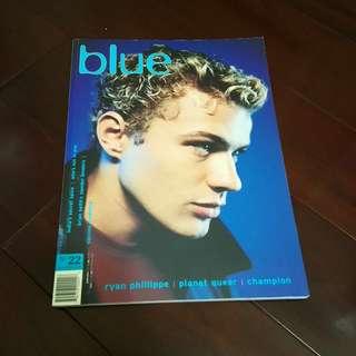 🚚 BLUE 1999 攝影雜誌