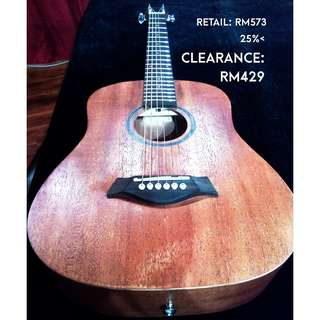 Kriens by Takawood K-5 Travel acoustic guitar [Clearance May 2018]