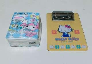 Hello Kitty Mini Memo Clipboard 絕版