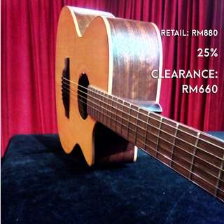 L Luthier GA22C Acoustic Guitar [Clearance May 2018]
