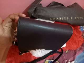 Tas charles n keith original sale
