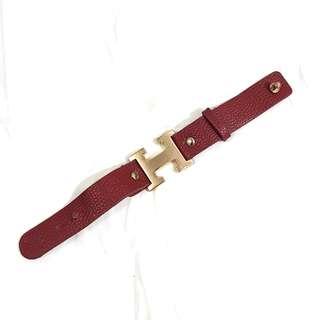 *PRLVD!* H Red Bracelet