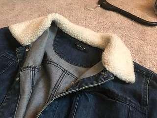 Huffer denim jacket