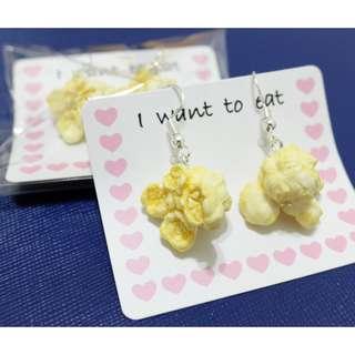 Popcorn Earrings - brand new