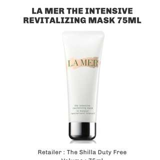 Unopened LA MER THE INTENSIVE REVITALIZING MASK 75ML