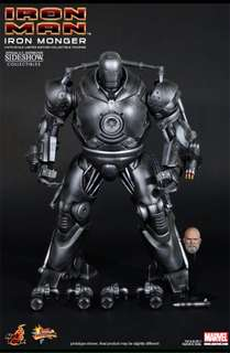 Hot Toys 1/6 Iron Monger -limited edition