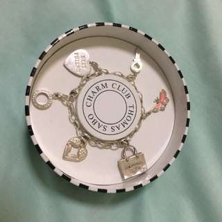 Thomas Sabo charm bracelet with 5 charms