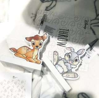 Sold - Disney Bambi & Thump photo stand