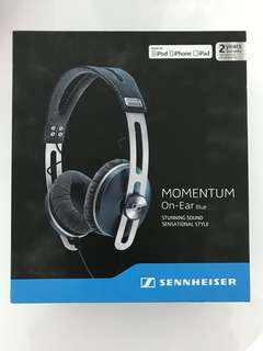 momentum on-ear blue 耳機