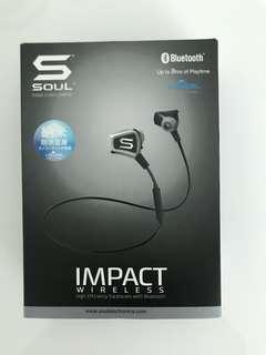 souls impact wireless 防水耳機