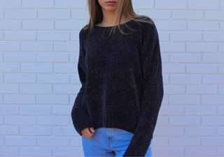 Chenille Gap Sweater