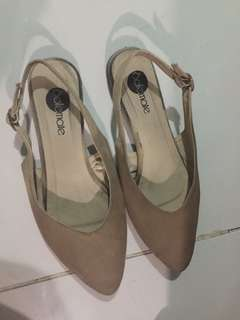 Nude Solemate Sandals