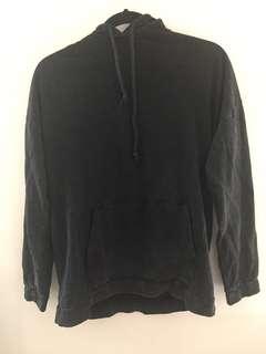 Charcoal oversized hoodie
