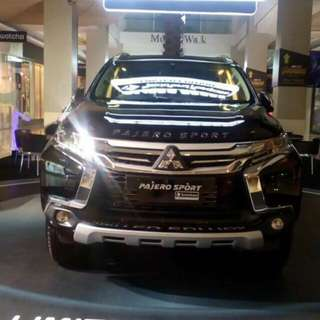 New PAJERO sport ROCKFORD FOSGATE 'limited edition'
