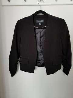 Forever 21 short blazer size S
