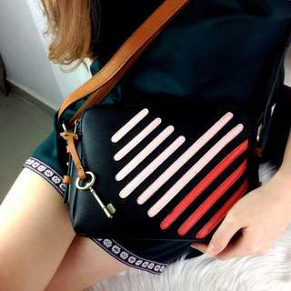 Piper Toaster Heart Double Zip Bag SS18