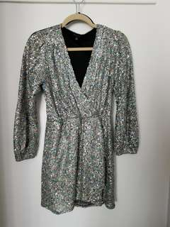 YAYA & CO Sequined Party Dress size S
