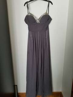 BEDO GREY GOWN SIZE MED