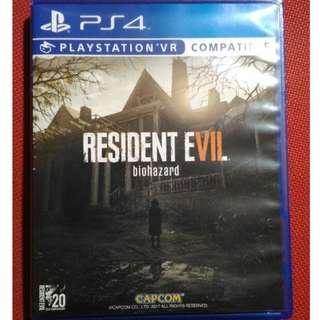 BD PS4 VR RESIDENT EVIL BIOHAZARD