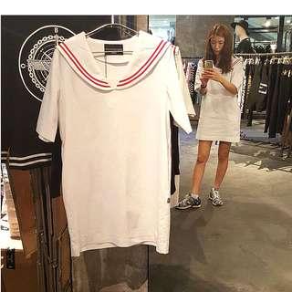 Brand New Charm's Sailor Dress from Korea