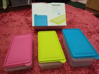 Tupperware Stak N Stor Set