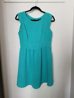 Forever 21 dress size M Actual shade is a tiffany blue