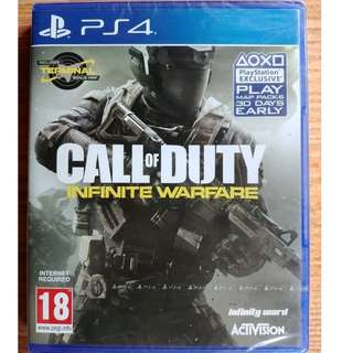 BD PS4 CALL OF DUTY INFINITE WARFARE