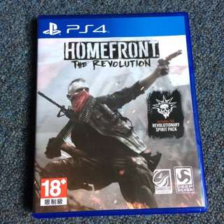 BD PS4 HOMEFRONT THE REVOLUTION