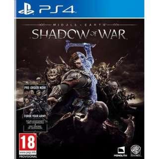 BD PS4 SHADOW OF WAR