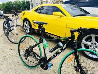 merida road bike olivio shimano 7\3 spracket