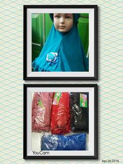 Jilbab anak rempel boneka
