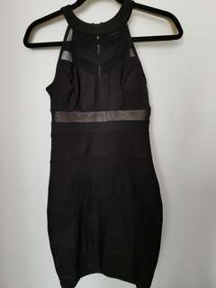Le Chateau Black dress size XS (will fit a small)