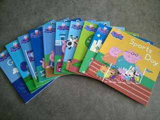 Peppa pig story book set (from UK)