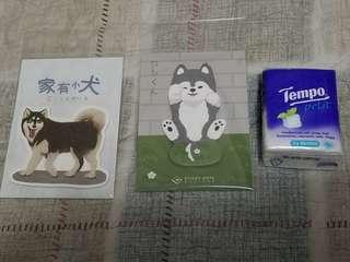雪橇狗 memo 便條紙 便利貼 西伯利亞 阿拉斯加