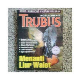 Majalah Trubus - Menanti Liur Walet