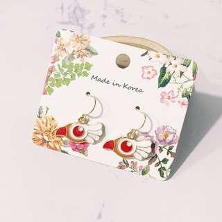 """""""Sailor moon"""" Flying bird earring"""